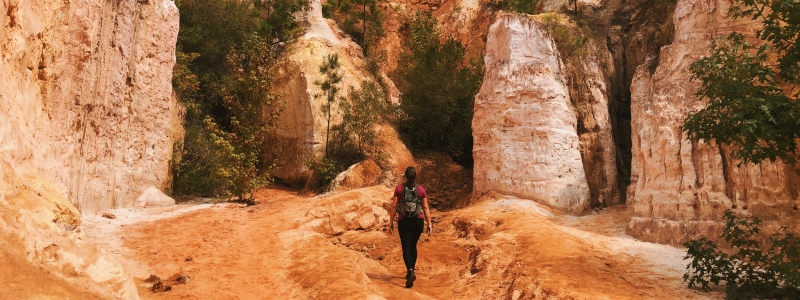 Providence Canyon | @capturecalliope