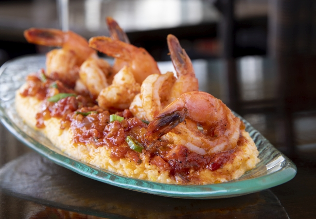 Brasstown Valley Shrimp & Grits | Benjamin Galland