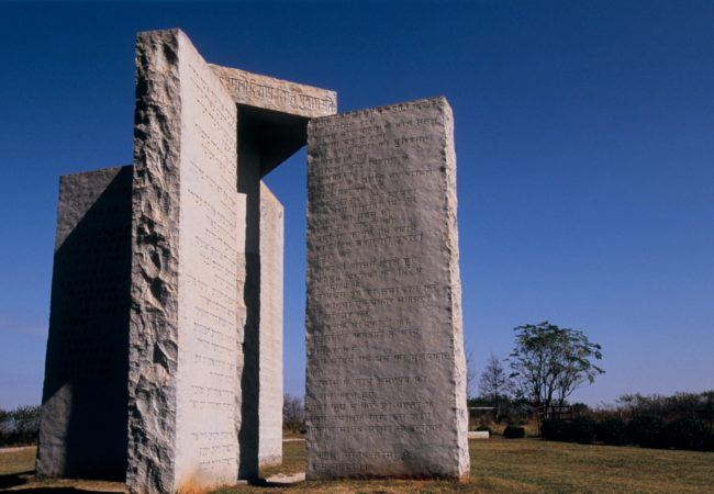 Georgia Guidestones © Elberton, Elbert County