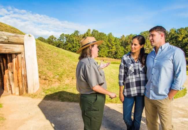 Ocmulgee National Monument © Bibb County CVB