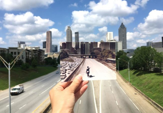 The Walking Dead, Jackson Street Bridge | @Andrea David, Filmtourismus