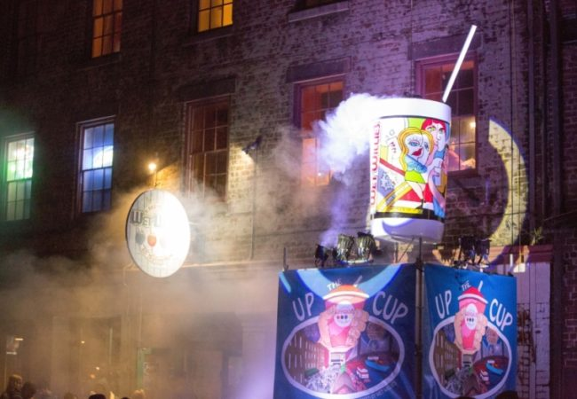 Up the Cup New Years Eve on River St © Visit Savannah